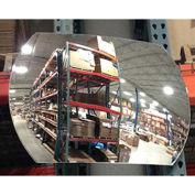 """Economy Convex Roundtangular Acrylic Mirror, 12"""" X 18"""""""