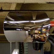 """Economy Convex Roundtangular Acrylic Mirror, 18"""" X 26"""""""