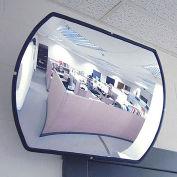 """Economy Convex Roundtangular Acrylic Mirror, 20"""" X 30"""""""