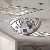 "T-Bar Dome Mirror,  2' x 2' Pane, 22"" Dia."