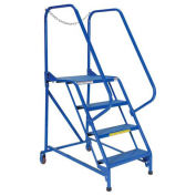4 Step Perforated Maintenance Ladder