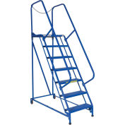 "Maintenance Ladder, 7 Step Perforated, 62""L x 29-1/2""W x 100""H (70""H Top Step)"