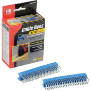 "Cable Boss Staples 5/16"" Blue - 250 pk."