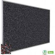 """Balt® Rubber-Tak Tackboard with Aluminum Trim 48""""W x 48""""H Red"""