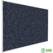"""Balt® Rubber-Tak Tackboard with Aluminum Trim 72""""W x 48""""H Blue"""