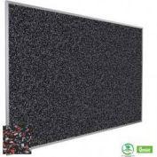 "Balt® Rubber-Tak Tackboard with Aluminum Trim 36""W x 24""H Red"