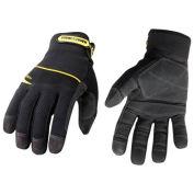 General Utility Gloves, General Utility Plus, Extra Large, Black,1 Pair