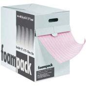 """24""""W x 175'L Air Foam Anti-Static Dispenser Packs, 1/8"""" Thickness, Pink"""