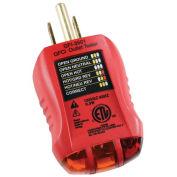 Gardner Bender GFCI Outlet Tester, 120 Vac