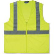 Aware Wear® ANSI Class 2 Economy Mesh Vest, Lime, Size L