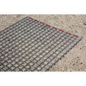 "Durable Corp Steel Link Mat, 36"" x 60"""
