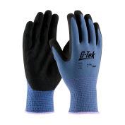 PIP G-Tek® Nitrile MicroSurface Nylon Grip Gloves, 12 Pairs/DZ, Medium