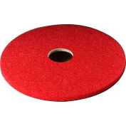 "3M™ Buffer Pad 5100, 18"", 5/Case, Red"