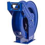 "Dual Hydraulic Spring Retractable Hose Reel, NO Hose, 1/2"" I.D. 50' Capacity, 2500 PSI"