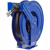 "Dual Hydraulic Spring Retractable Hose Reel, NO Hose, 3/8"" I.D. 50' Capacity, 3000 PSI"