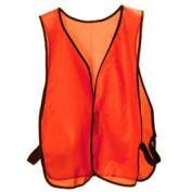 Hook & Loop Hi-Vis Safety Vest, Orange, One Size Fits All