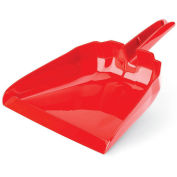 "Libman Commercial 911 13"" Dust Pan - Red - Pkg Qty 6"