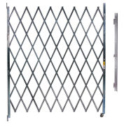 "Single Folding Gate, 3'W to 4'W and 7'6""H"