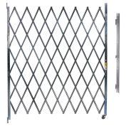 Single Folding Gate, 10'W to 11'W and 6'H