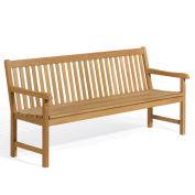 "Oxford Garden Classic Bench, 72""W x 26-1/2""D x 35""H, Wood"