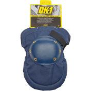 Occunomix Value Contoured Hard Cap Knee Pads, 1 Pair, Blue