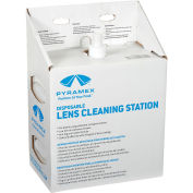 Lens Cleaning Station, 1200 Tissues, 16oz Solution