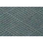 """Waterhog Classic Diamond Mat, 6' x 16' x 3/8"""", Bluestone"""