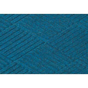 "Waterhog Classic Diamond Mat, 6' x 16' x 3/8"", Med Blue"