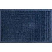 "Waterhog Fashion Mat, 4' x 6' x 3/8"", Navy"
