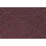 "Waterhog Classic Diamond Mat, 4' x 16' x 3/8"", Bordeaux"