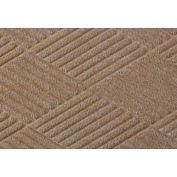 Waterhog Fashion Diamond Mat, Med Brown 6' x 12'