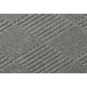 "Waterhog Fashion Mat, 6' x 16' x 3/8"", Med Gray"