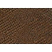 Waterhog Fashion Diamond Mat, Dark Brown 6' x 12'
