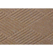 Waterhog Fashion Diamond Mat, Med Brown 4' x 16'