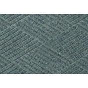 """Waterhog Classic Diamond Mat, 3' x 12' x 3/8"""", Bluestone"""