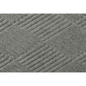 "Waterhog Classic Diamond Mat, 2' x 3' x 3/8"", Med Gray"