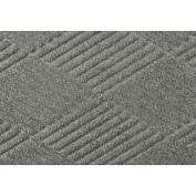 Waterhog Fashion Diamond Mat, Med Gray 4' x 16'