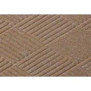 Waterhog Fashion Diamond Mat, Med Brown 6' x 16'