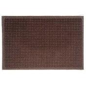 """Waterhog Fashion Mat, 6' x 12' x 3/8"""", Dark Brown"""