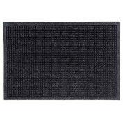 """Waterhog Fashion Mat, 6' x 12' x 3/8"""", Charcoal"""