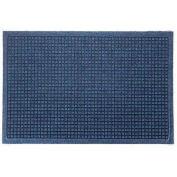 "Waterhog Fashion Mat, 6' x 12' x 3/8"", Med Blue"