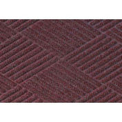 Waterhog Fashion Diamond Mat, Bordeaux 4' x 16'