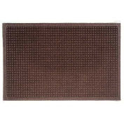 "Waterhog Fashion Mat, 3' x 16' x 3/8"", Dark Brown"