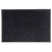 "Waterhog Fashion Mat, 3' x 16' x 3/8"", Charcoal"