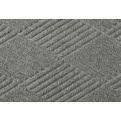 "Waterhog Fashion Mat, 4' x 20' x 3/8"", Med Gray"