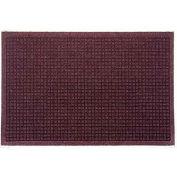 """Waterhog Fashion Mat, 4' x 20' x 3/8"""", Bordeaux"""