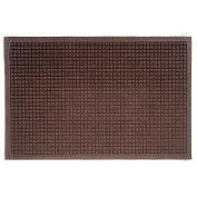"Waterhog Fashion Mat, 4' x 12' x 3/8"", Dark Brown"