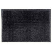"Waterhog Fashion Mat, 4' x 12' x 3/8"", Charcoal"