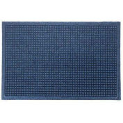 "Waterhog Fashion Mat, 3' x 10' x 3/8"", Med Blue"