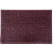 "Waterhog Fashion Mat, 4' x 12' x 3/8"", Bordeaux"